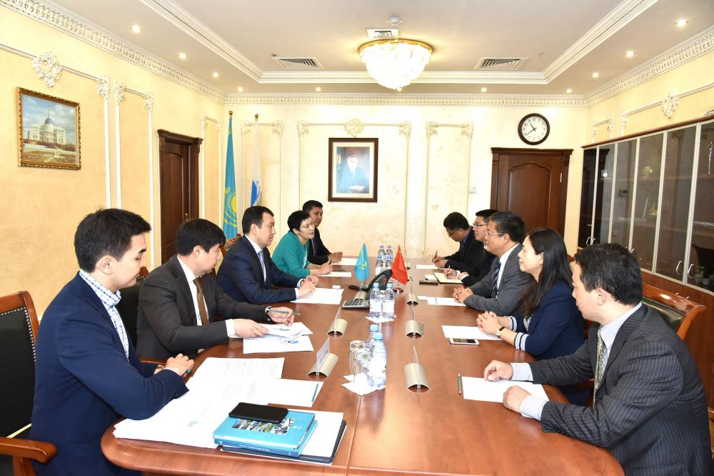 "The head of ""NC ""KTZ"" JSC held negotiations with partners on the development of cooperation in the transport and logistics sector"